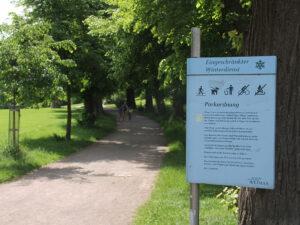 Parkanlage in Weimar