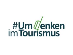 Logo #Umdenken im Tourismus